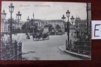 Postkarte Ansichtskarte Niedersachsen Lithografie Hannover Hotel Restaurant