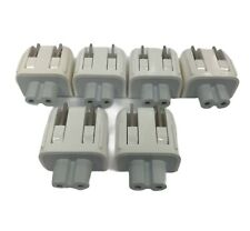 Lot of 6 Apple DuckHead charger Wall Adapters 2 prong plug 45W 60W 85W Genuine