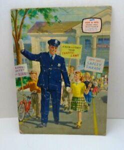 E. E. FAIRCHILD VINTAGE  KIDS & PETS FRAME TRAY INLAY PUZZLE  parade policeman