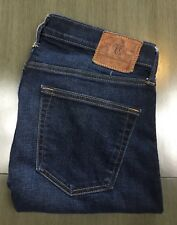Abercrombie & Fitch Men's White Oak Cone Denim Selvedge Straight Jeans Sz 31x32
