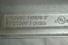 """New Eaton Crouse-Hinds C300M Form 5 Type C Conduit Body 3"""""""