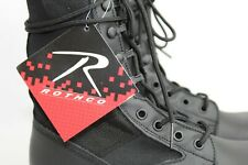 Rothco Men's Boots Black Jungle Army Military Deployment Size 7 Model 5050 Hike