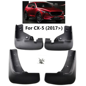 4Pcs Fit For Mazda CX-5 KF 2017-2021 Mud Flaps Splash Guards Front Rear Fenders