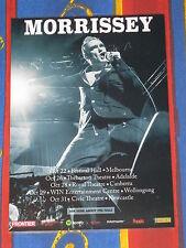 MORRISSEY - 2016  Australia Tour - Laminated Promotional Poster