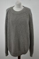 COS Grey Crew Neck Pullover Jumper size M