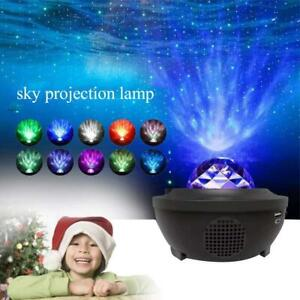 USB Galaxy Projector Starry LED Music Night Light Star Sky Projection Lamp