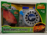 View-Master 3d Viewer Binoculars Marine Life 3 Reels in 3d & Storage Case NEW