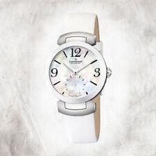 Relojes de pulsera de cuero luz de mujer