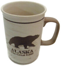 Large 16 oz. Alaska Faux Marble Grizzly Coffee Mug