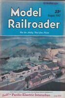 "[75510] ""MODEL RAILROADER"" MAGAZINE - Vol. 14, No. 8 (AUGUST 1947)"