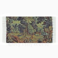 Dolls House Miniature Small Tapestry Country Garden (tapxsr01)