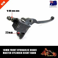 10MM Front Right Hydraulic Brake Master Lever Cylinder Pit/Dirt Bike/ATV/Quad TD