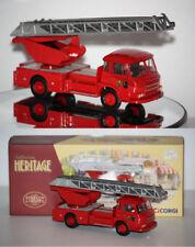 "Corgi Heritage Saviem JL20 Grande Echelle ""Pompiers de Paris"" 1/50  EX70909"