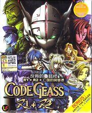 ANIME UK Based CODE GEASS R1 + R2 Full TV Series + 5 OVA DVD