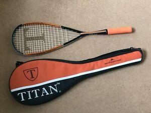 NEW Titan Tiger Squash Racket