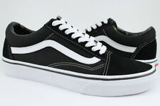 Vans Old Skool - Black/White - Classic Skate Shoes - Suede & Canvas - Men/Women