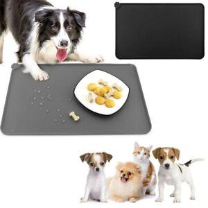 Pet Feeding Mat Silicone Dog Cat Bowl Mat Non Slip Pet Feeding Mat Waterproof