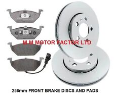 Audi A1 (2010-) 1.2 1.4 1.6 TDi TFSi FRONT VENTED BRAKE DISCS AND PADS SET
