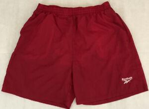 vintage reebok swim trunks shorts men's size x-large deadstock