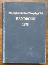 More details for the english shetland sheepdog club handbook 1975. vintage hardback sheltie book.