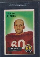 1955 Bowman #011 Bill Austin Giants VG/EX 55B11-21316-1