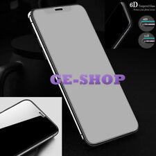6D Curved Full Cover Dust-free Tempered Glass Screen Protector For iPhone X