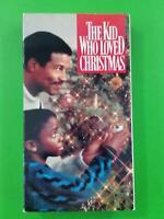 THE KID WHO LOVED CHRISTMAS Cicely Tyson Sammy Davis Jr. 1990 Paramount VHS TAPE