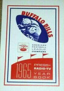 1965 Buffalo Bills Poster - AFL - Jack Kemp - Schottenheimer - Behrman - Maguire