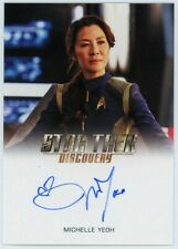 2019 Star Trek Discovery Season One Michelle Yeoh Autograph Very Limited