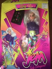 Roxy of the Misfits – Vintage 1986 – Jem & the Holograms - with Poster - Hasbro