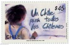 Chile 1990 #1430 Un Chile Para todos los Chilenos MNH