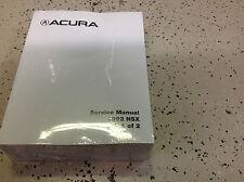 1992 Acura NSX Service Shop Repair Manual FACTORY N S X DEALERSHIP OEM NEW 92 X
