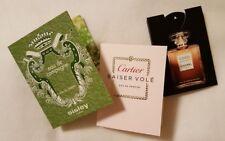 3x Duftproben Sisley Eau de Campagne + Chanel Coco Mademoiselle + Cartier ...