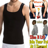 Body Slimming Shaper For Weight Loss Men Chest Compression Tummy Belly Vest Top