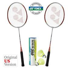 Yonex B350 Badminton Combo Set (2 Rackets + 1 Tube of Shuttlecocks)