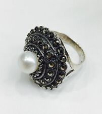 Pearl Sterling Silver Vintage & Antique Jewellery
