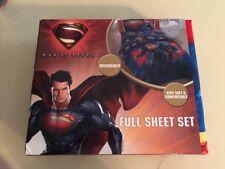 Superman Man of Steel 4-Piece Full Sheet Set