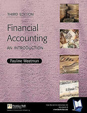 FINANCIAL ACCOUNTING: AN INTRODUCTION. , Weetman, Pauline. , Used; Very Good Boo