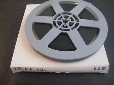 1950s Vintage 8mm film .. model ,  .... VIRGINIA BELL   B/W   200 FT. REEL