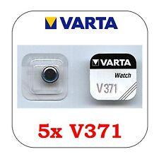 5 Stück VARTA V371 Knopfzelle Batterie - SR69 - SR920SW Uhrenbatterie SR920