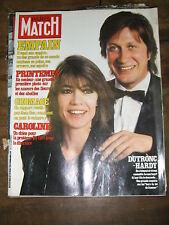 Paris Match N° 1663 20/3/1981 Jacques Dutronc Françoise Hardy Lady Di Depardieu