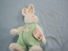 "Boyd'S Bears Stuffed Fuzzy White Rabbit "" Head Bean Collection"