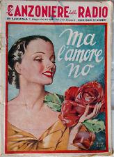 CANZONIERE della RADIO 1943/59-ma l'amore no-design Roveroni-Messaggerie Musica