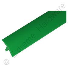 "40FT 5/8"" 15mm Green T-Molding Plastic Edge Trim for Arcade Machine Cabinet"