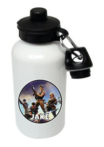 Fortnite - Personalised Kids/Drinks/Sports Childrens Water Bottle
