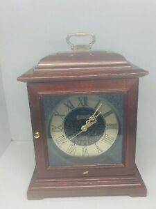Vintage Bulova Westminster Melody Mantle Clock  Quartz Retirement Parts/Repair