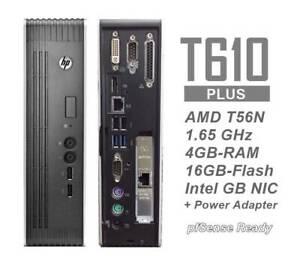 HP t610 Plus Thin Client w/ QUAD GB Intel Pro1000 NIC 16/4GB-pfSense 2.5 ready