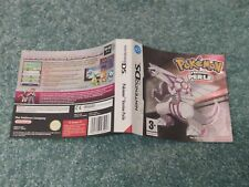 Jaquette originale du jeu Pokémon version Perle 🇫🇷 Nintendo DS