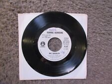 "RONNIE HAWKINS ""BO DIDDLEY"" 1973 MONUMENT WLP STEREO/MONO SHORT EDIT VG OOP"