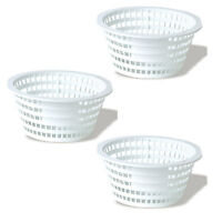Swimline 8928 Olympic ACM88 Replacement Swimming Pool Skimmer Basket (3 Pack)